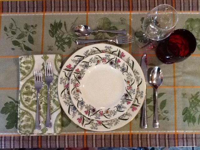 Final countdown thanksgiving mise en place chefs last diet - Mise en place table restaurant ...
