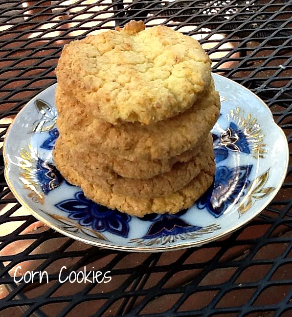 corn cookies ready to eat