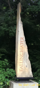 Falling Water Signpost